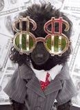 Geld-Monster Lizenzfreie Stockbilder