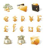 Geld, munt Royalty-vrije Stock Afbeeldingen
