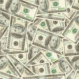 Geld nahtlos Lizenzfreie Stockbilder