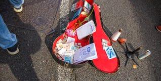 Geld op de straat Royalty-vrije Stock Afbeelding