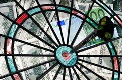 Geld-Pfeile Lizenzfreies Stockfoto