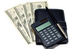 bargeld rechner und feder getrennt stockfoto bild von bezahlung finanzierung 23600332. Black Bedroom Furniture Sets. Home Design Ideas