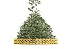 Geld-Regen Stockfotos