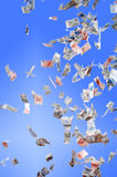 Geld-regen Stock Afbeeldingen