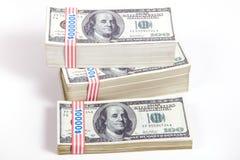 Geld, Rijkdom Stock Afbeelding