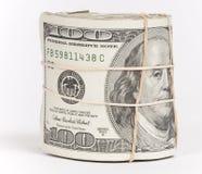 Geld-Rolle Stockfotos