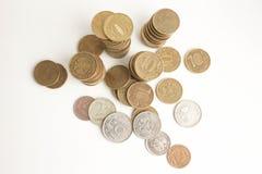 Geld Rusland muntstukken foto Stock Foto's