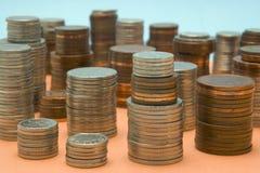 Geld scape lizenzfreie stockfotos