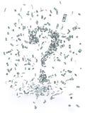 Geld-Schwarm Stockfoto
