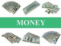 Geld. Set Lizenzfreies Stockfoto