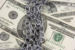 Geld-Sicherheit Stockbild