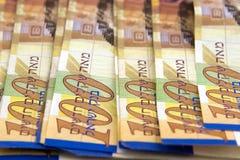 Geld-sjekels Stock Fotografie
