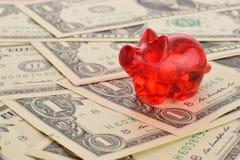 Geld sparen Fotografering för Bildbyråer