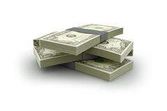 Geld-Stapel Stockfotografie