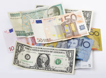 Geld Stash stockbilder