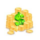 Geld stellte 1 ein Stockfotografie