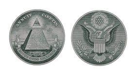 Geld-Symbole Lizenzfreie Stockfotografie