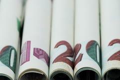 Geld-türkische Lira Stockfoto
