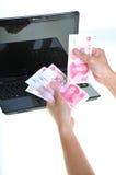 Geld in Technologie 5 Stockfotos