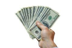 Geld ter beschikking Royalty-vrije Stock Foto's