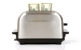 Geld-Toaster Stockbilder