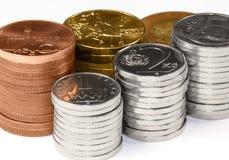 Geld - tschechische Krone Lizenzfreies Stockbild