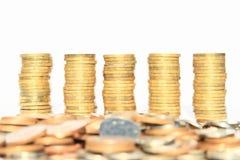 Geld- tschechische Kronen Lizenzfreie Stockfotos