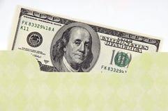 Geld-Umschlag Lizenzfreies Stockbild