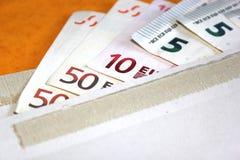 Geld-Umschlag Stockfotografie