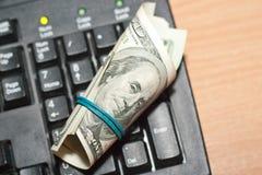 Geld und CPU Stockbild