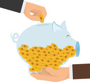 Geld und Investition Stockbilder