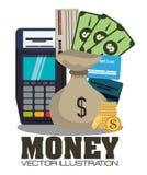 Geld und Investition Lizenzfreies Stockbild