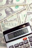 Geld und Rechner lizenzfreies stockfoto