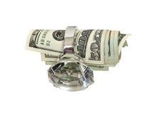 Geld und Verbindung Lizenzfreie Stockfotografie