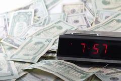 Geld und Zeit Stockfotografie