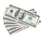Geld US-Dollars Lizenzfreie Stockfotografie