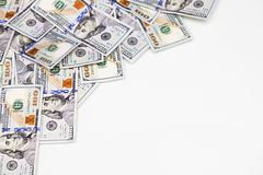 Geld - USD Stockfoto