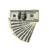 Geld - USD - Duizend Dollars Stock Afbeelding