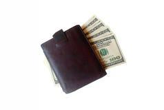 Geld in Uw Portefeuille royalty-vrije stock afbeelding