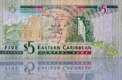 Geld van de Oostelijke Caraïben Royalty-vrije Stock Foto's