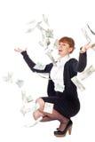 Geld van hemel Royalty-vrije Stock Foto