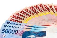 Geld van Indonesische Roepie Royalty-vrije Stock Fotografie