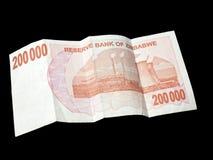 Geld van Zimbabwe Royalty-vrije Stock Foto