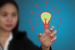 Geld vom Ideenkonzept Lizenzfreies Stockbild