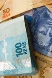 Geld von Brasilien Stockbilder