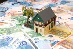 Geld von Euro Stockfotos