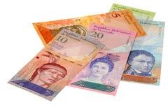 Geld von Venezuela lizenzfreie stockfotos