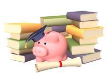 Geld voor onderwijs royalty-vrije illustratie