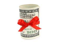 Geld vorhanden stockbild