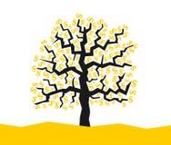 Geld wächst auf dem Baum vektor abbildung